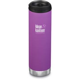 Klean Kanteen TKWide Bidón con Tapa Café 592ml Aislamiento al Vacío, violeta
